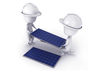 instalação energia solar